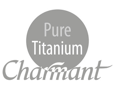 charmant pure titanium designer frames optometrist local